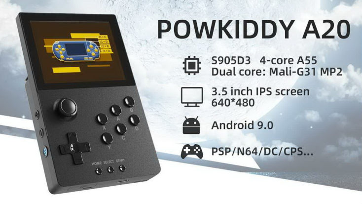 Powkiddy A20 Konsole