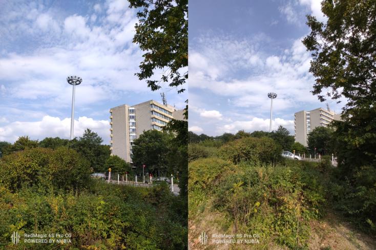 RedMagic 6S Pro Kamera-Vergleich