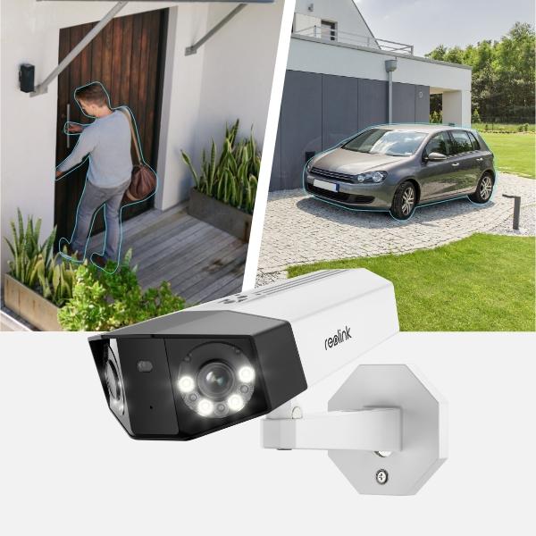 Reolink Duo Überwachsungskamera Personenerkennung