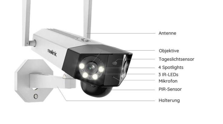 Reolink Duo Kamera Details