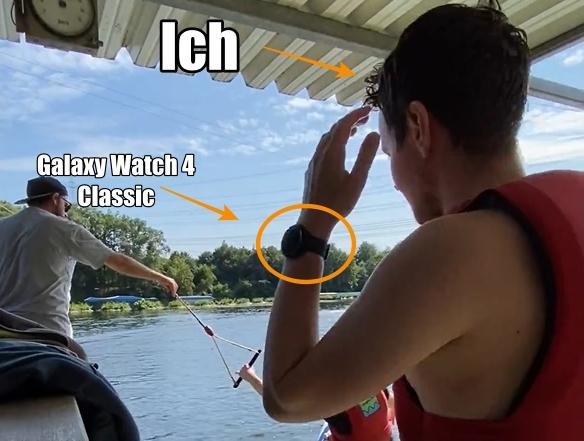 Samsung Galaxy Watch 4 Classic Wasserski