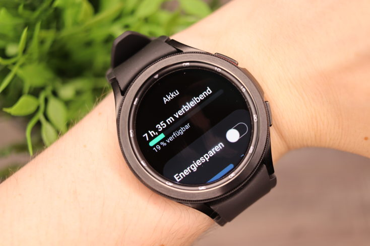 Samsung Galaxy Watch 4 Akku 1