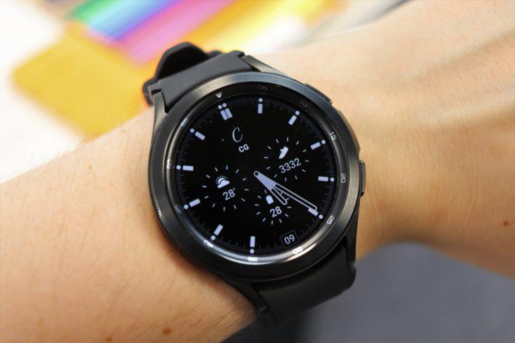 Samsung Galaxy Watch 4 Always On Display