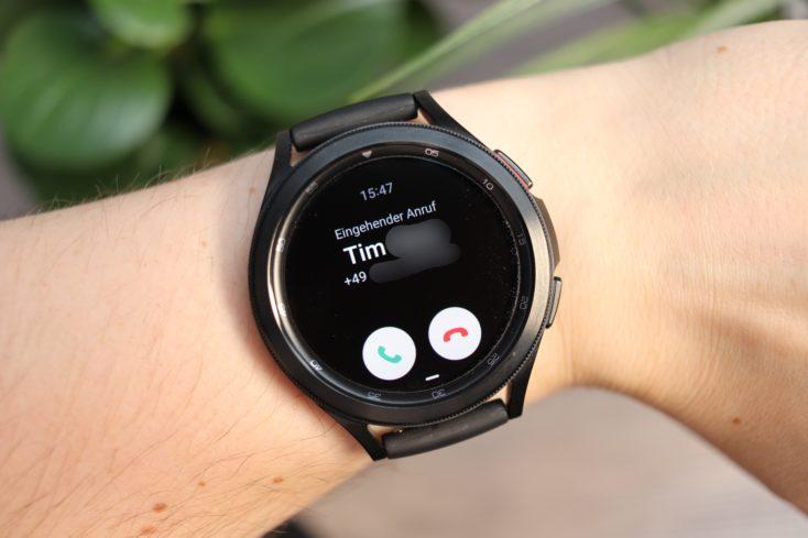 Samsung Galaxy Watch 4 Anrufe
