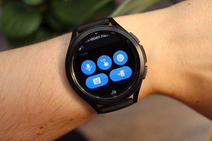 Samsung Galaxy Watch 4 Antworten auf Nachrichten