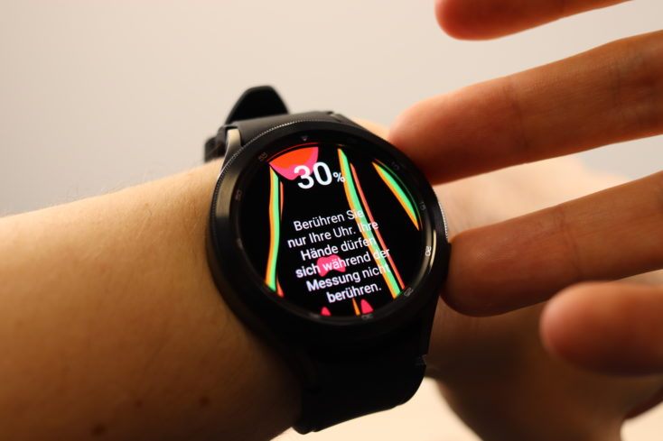 Samsung Galaxy Watch 4 Bioimpendanzanalyse BIA
