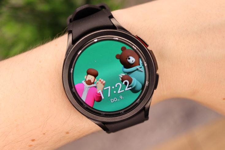 Samsung Galaxy Watch 4 Freunde Watchface