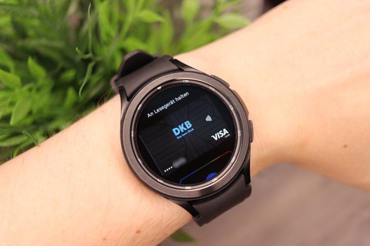 Samsung Galaxy Watch 4 Google Pay