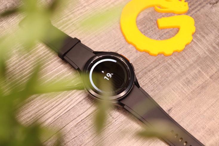 Samsung Galaxy Watch 4 Laden