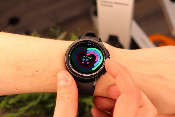 Samsung Galaxy Watch 4 Luenette bedienung