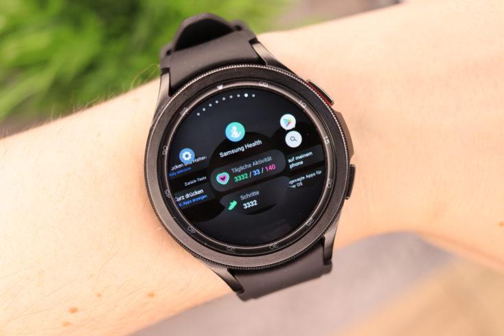 Samsung Galaxy Watch 4 Multitasking