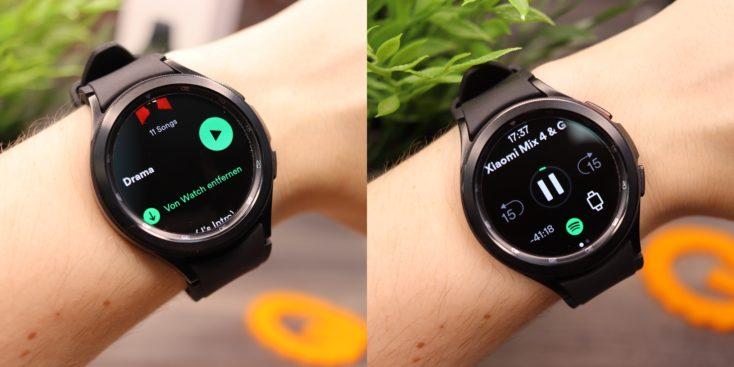 Samsung Galaxy Watch 4 Spotify