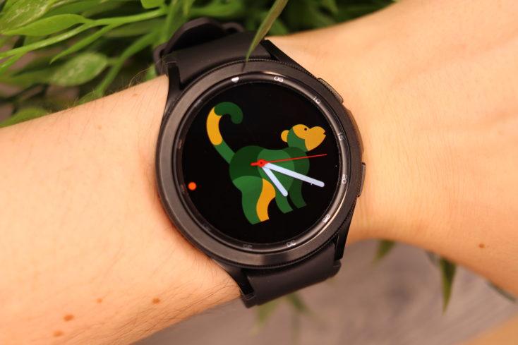 Samsung Galaxy Watch 4 Watchface Affe