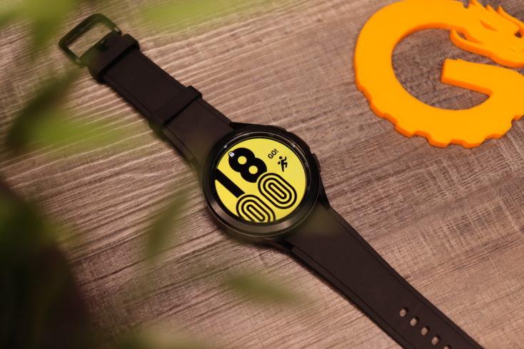 Samsung Galaxy Watch 4 Watchface Gelb