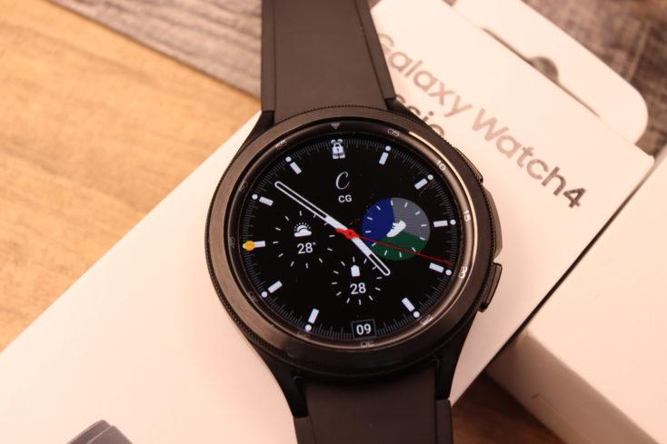 Samsung Galaxy Watch 4 Watchface Standard