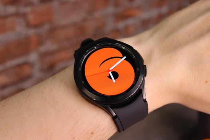 Samsung Galaxy Watch 4 Watchface zahl