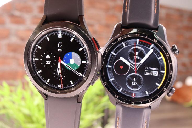 Samsung Galaxy Watch 4 vs TicWatch Pro 3