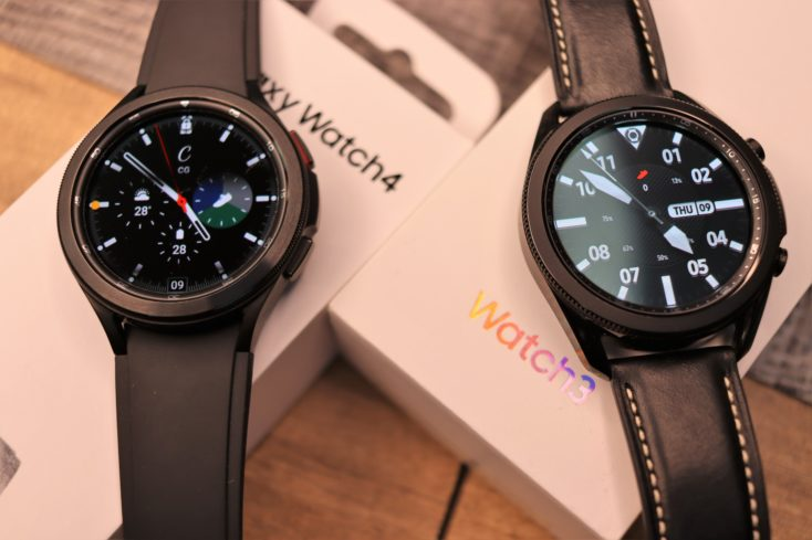 Samsung Galaxy Watch 4 vs Watch 3