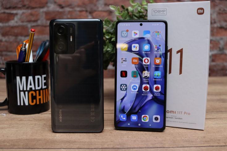Xiaomi 11T Pro Front und Rueckseite