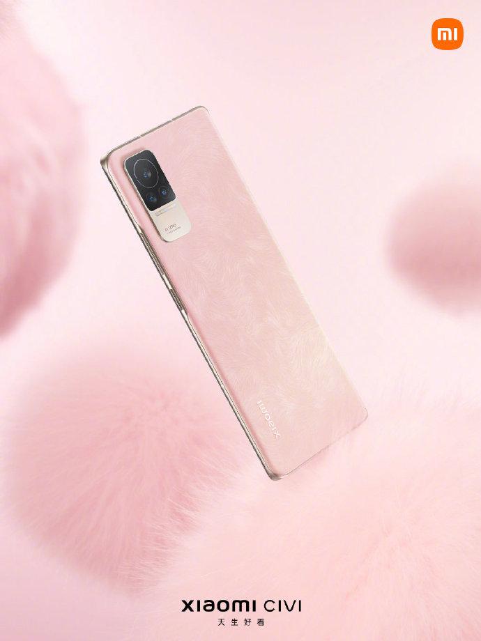 Xiaomi CIVI Smartphone Colorway Pink