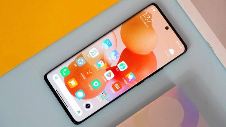 Xiaomi CIVI Smartphone Display