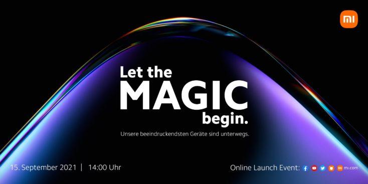 Xiaomi Launch Event September