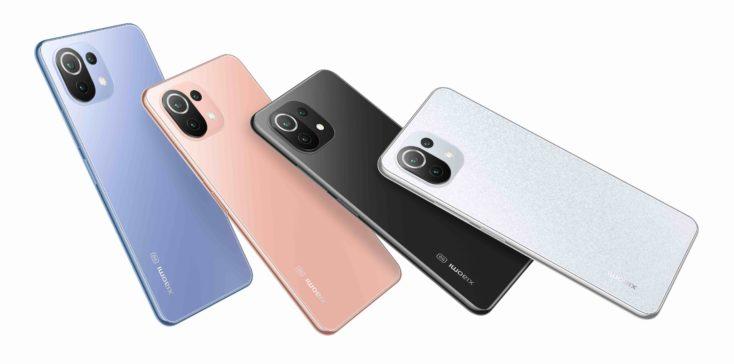 Xiaomi MI 11 Lite 5G NE Farben