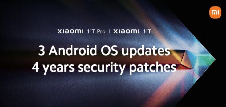 Xiaomi Mi 11T Android Updates