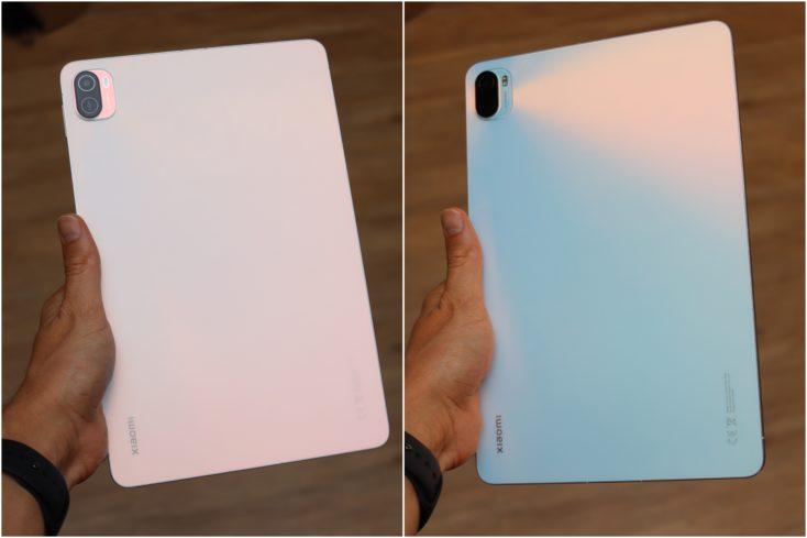 Xiaomi Pad 5 Rueckseite Farben
