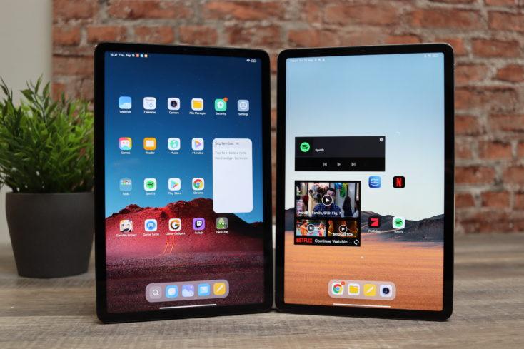 Xiaomi Pad 5 vs Xiaomi Pad 5 Pro Tablet Displays