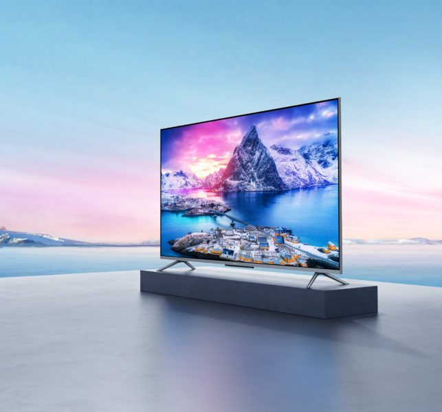 Xiaomi TV Q1E 55 Fernseher von der Seite