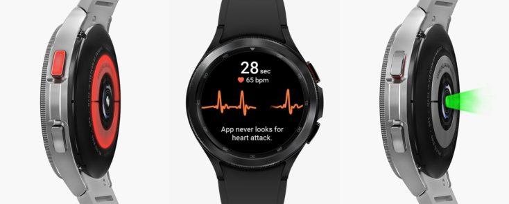 galaxy-watch4-classic-Blutdruck EKG Puls