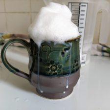 kabelloser Handmixer Milchschaum Tee