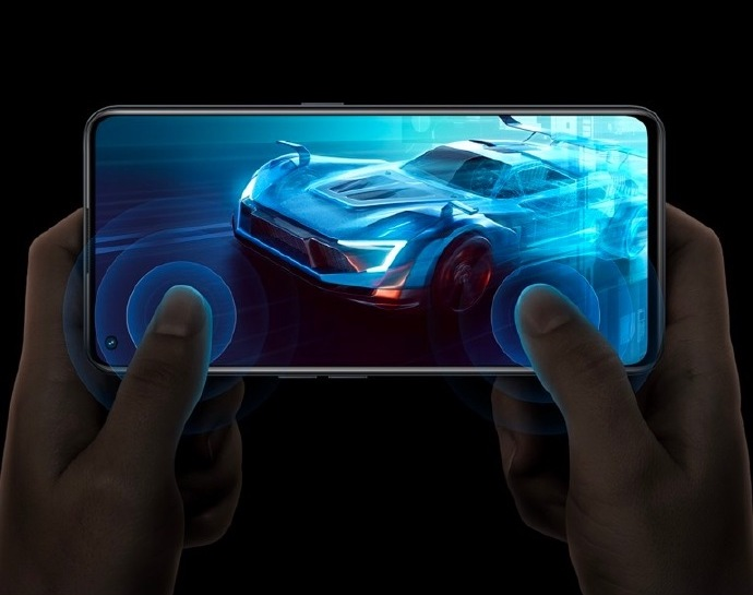 relame GT Neo2 Smartphone Display Gaming