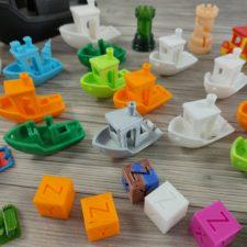 3D Testdrucke Benchy und mehr 4