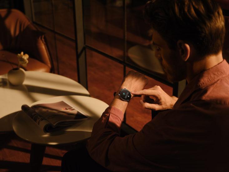 Amazfit GTR 3 Pro Smartwatch Bedienung