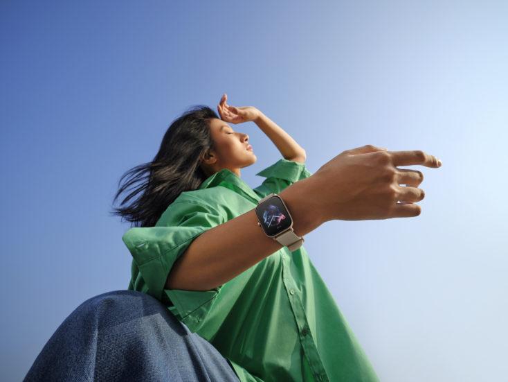 Amazfit GTS 3 Smartwatch am Arm