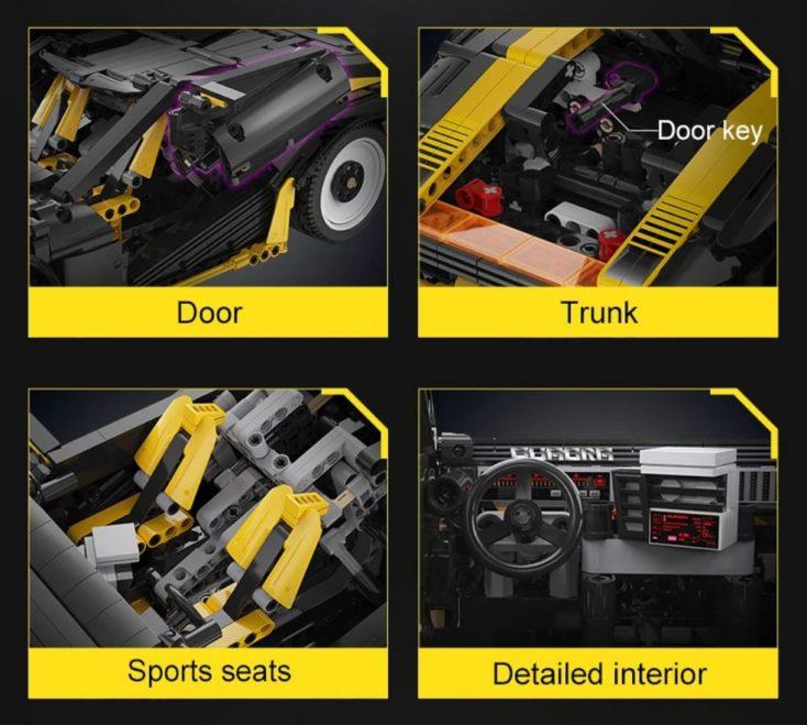 CaDA C63001W Sportwagen 1