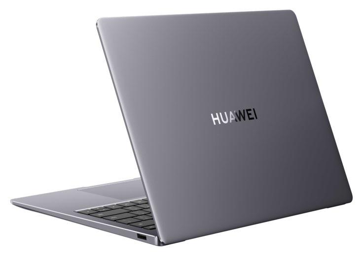 Huawei MateBook 14s grau hinten