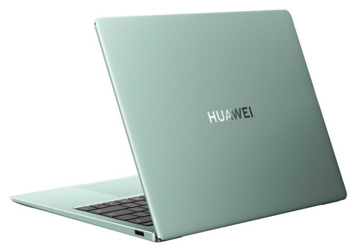 Huawei MateBook 14s gruen hinten