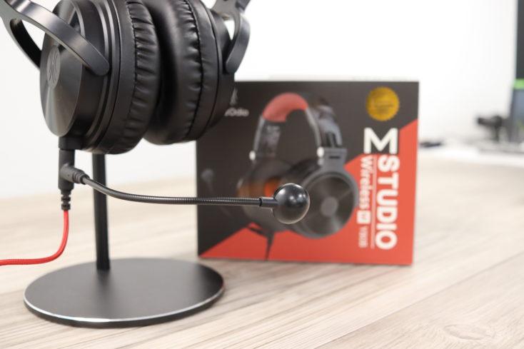 OneOdio Studio Pro-M Headset angeschlossen