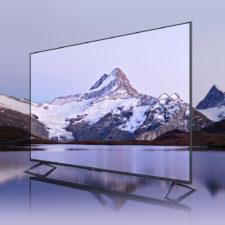 Redmi X 2022 Fernseher von der Seite