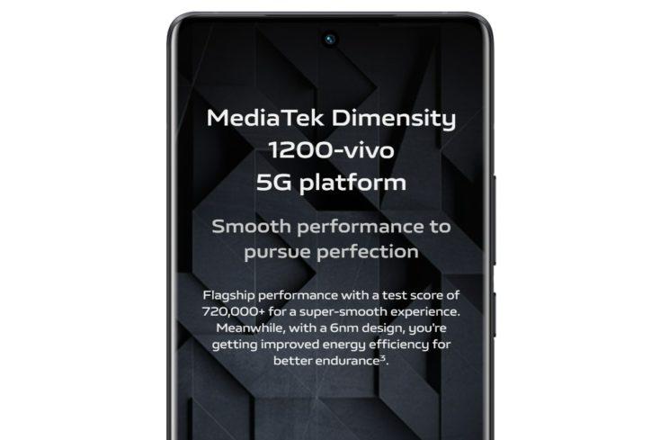 Vivo X70 MediaTek Dimensity 1200