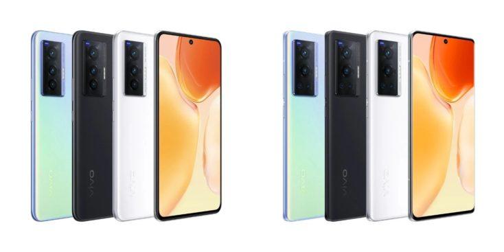 Vivo X70 X70 Pro Farben