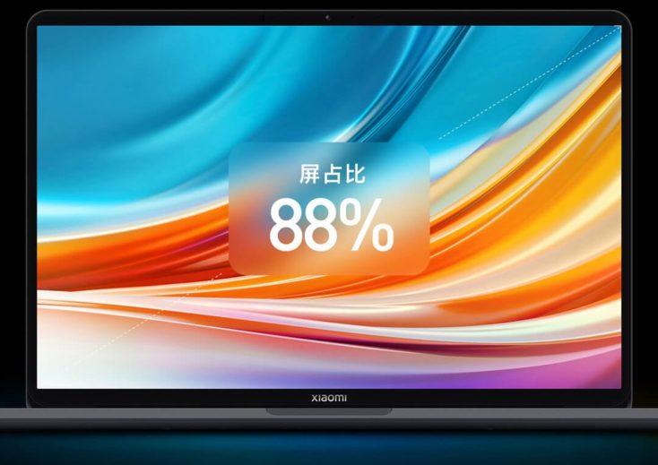Xiaomi Notebook Pro X 14 Screen to body