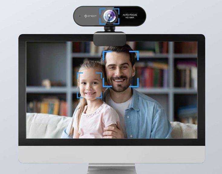 eMeet 1080p Webcam Kameraqualitaet