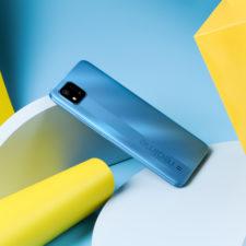 realme C11 2021 Design Smartphone Rueckseite