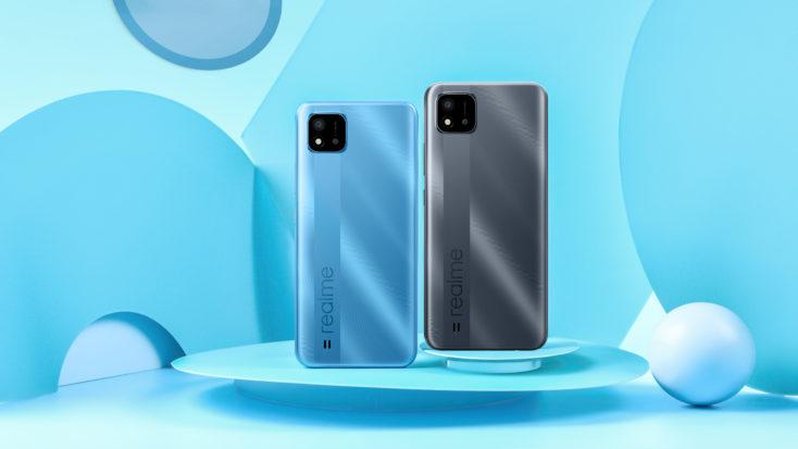 realme C11 2021 Smartphone Farben