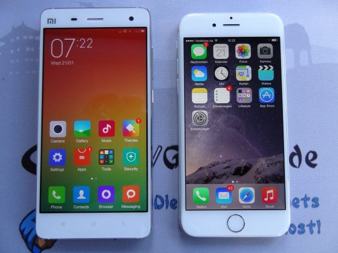 MIUI vs. iOS: Geschmackssache