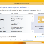 Windows 8.1 Leistungsindex